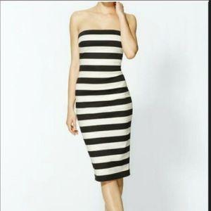 Express size 10 strapless dress